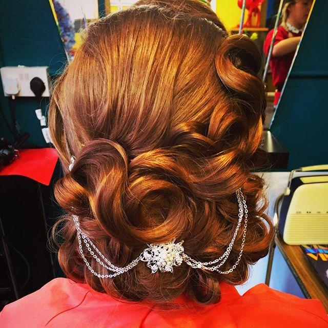 Amazing Vintage Wedding Hairstyles By Carl Brown, UK