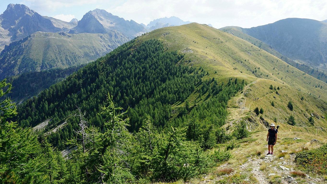Ascending to Mont Lapassé
