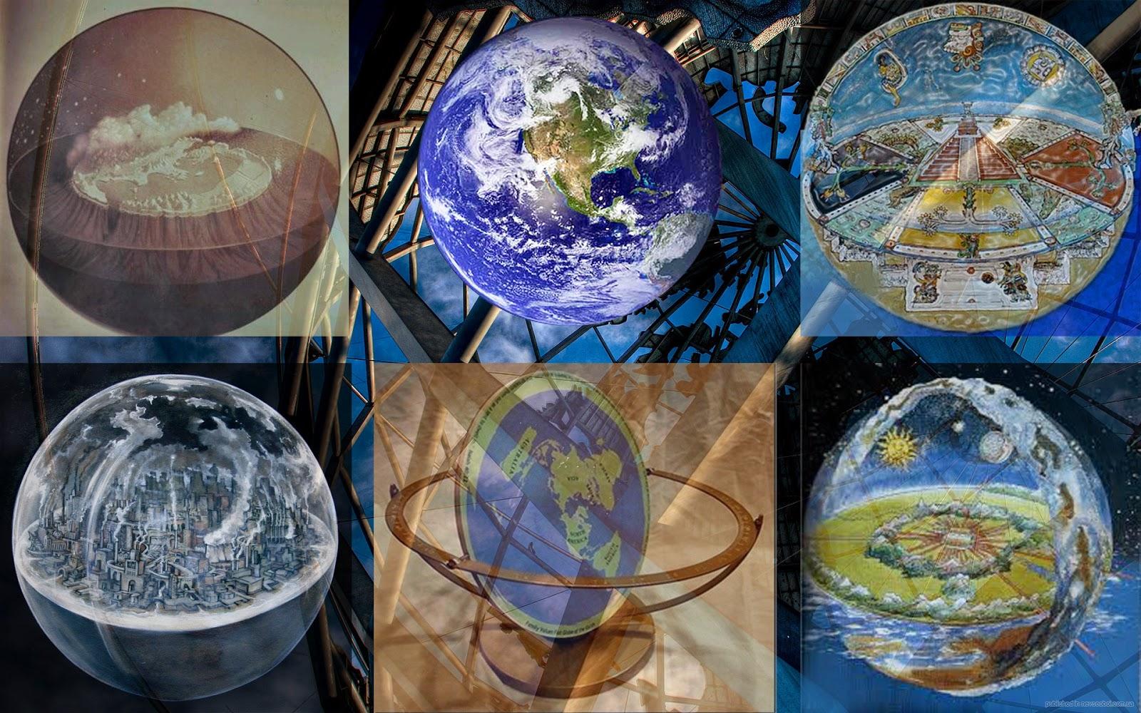 The Atlantean Conspiracy The Globe Earth Lie