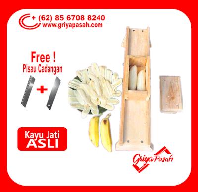 gambar alat pengiris keripik pisang