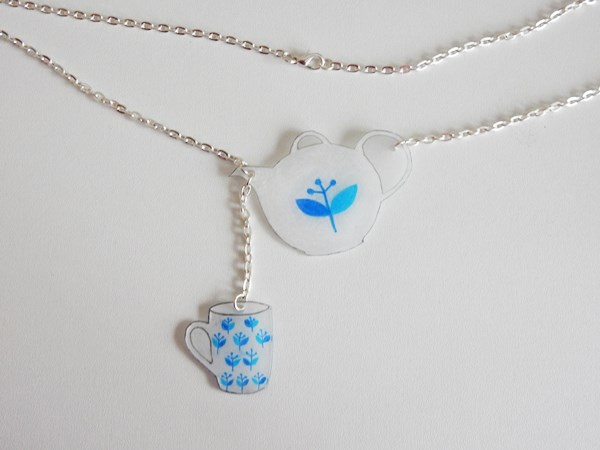 DIY : Collier tea-time