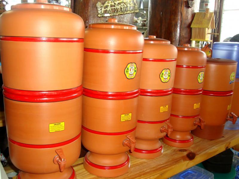 Filtro de barro brasileiro é eleito como o melhor sistema para filtragem de água do mundo
