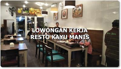 Lowongan Kerja Staff Dapur dan Waitress Cafe Dessert & Resto Kayu Manis Pontianak