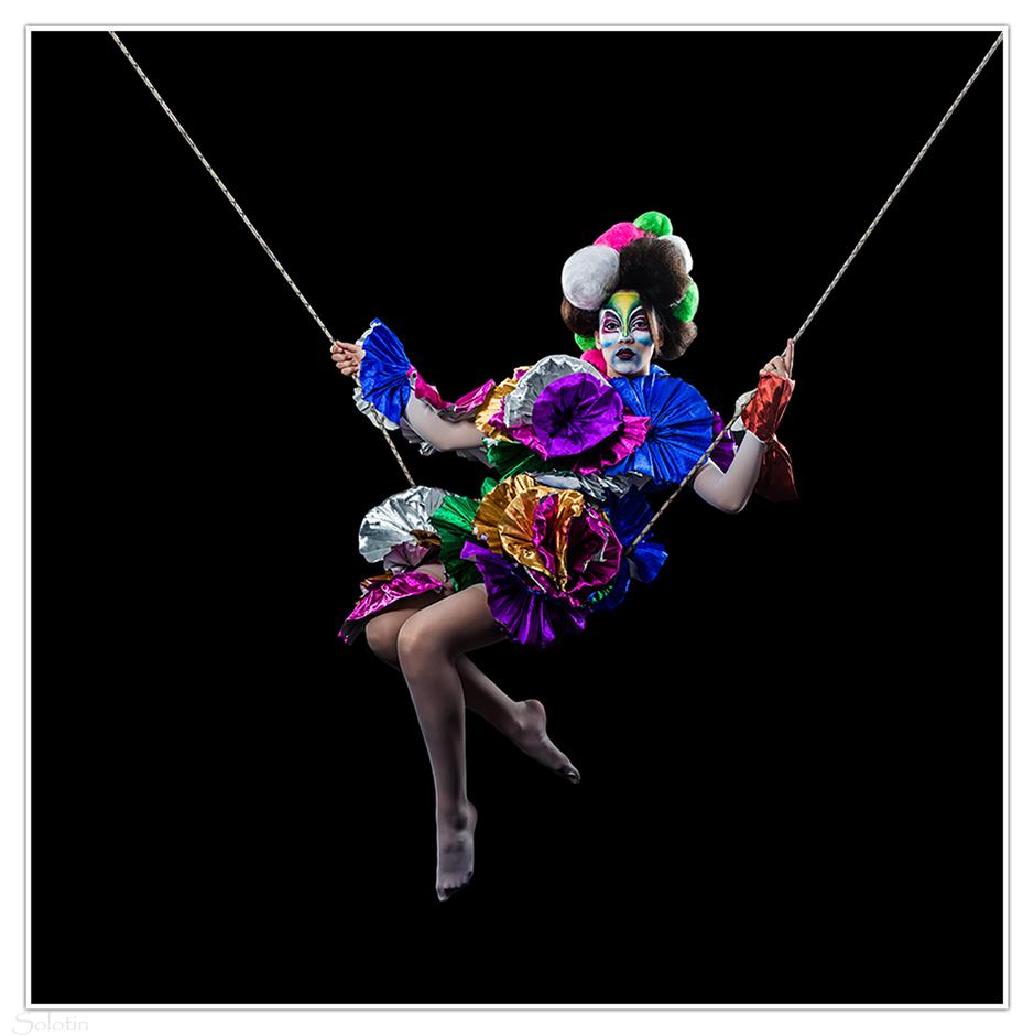 фотосессия цирк клоун