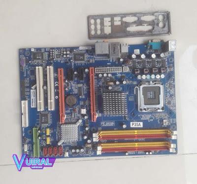 Gambar Hardware Proses Komputer Motherboard