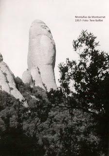 Monsterrat 1945. Foto de archivo