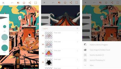 aplikasi menggambar di hp adobe illustrator draw