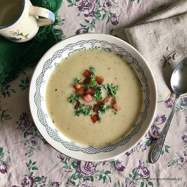 Ostra zupa chrzanowa
