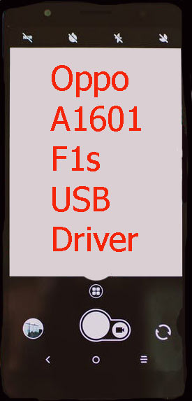 Oppo A1601 F1s USB Driver Download