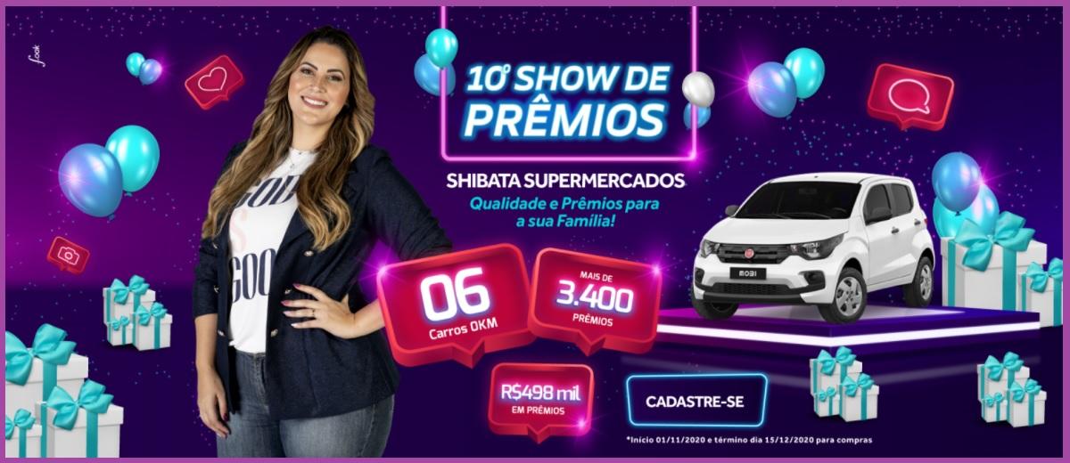 Participar Promoção Shibata 2020 Show de Prêmios Supermercados
