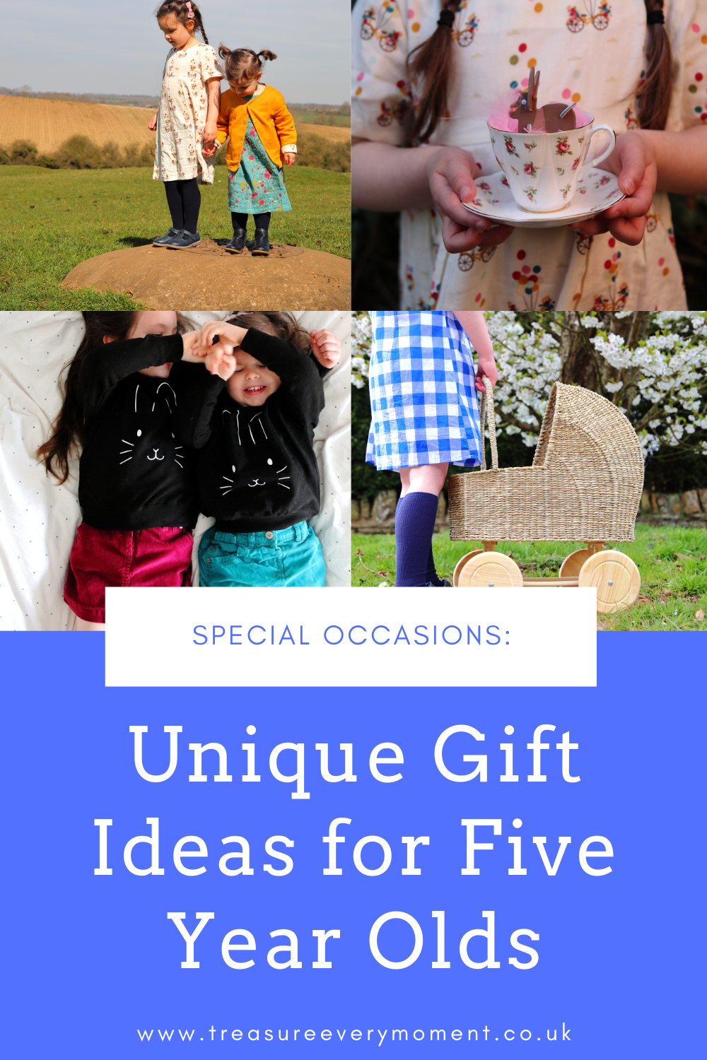 SPECIAL OCCASIONS: Unique Gift Ideas for Five Year Olds