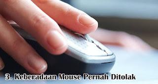 Keberadaan Mouse Pernah Ditolak merupakan salah satu fakta menarik tentang mouse yang wajib kamu ketahui