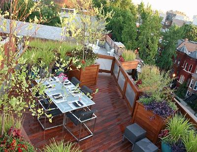 Como decorar patios peque os patios y jardines - Como decorar un jardin pequeno ...