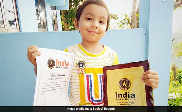 Assam boy is India's youngest writer at age of 4