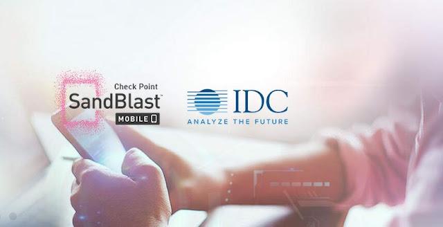 Check Point Software Reconhecida como Líder pelo IDC MarketScape Report for Mobile Threat Management, pelo terceiro ano consecutivo