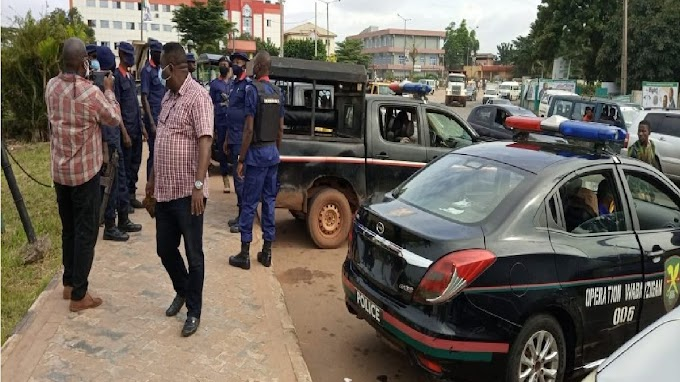 Police operatives take over Edo Assembly complex
