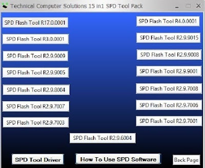 All In One SPD Flash Tool Free Download