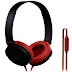 Amazon - SoundMagic P10S Black Red Headphone with Mic at Just 549