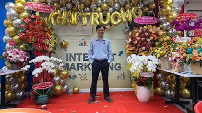 Khai trương chuỗi Internet Marketing Cafe