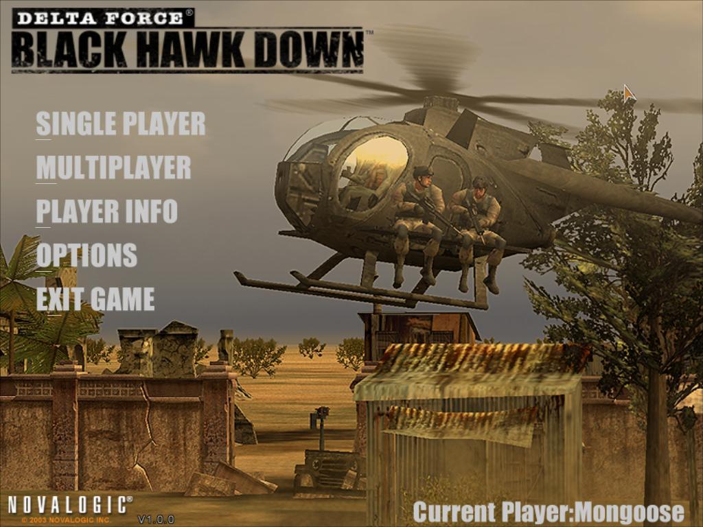 Delta Force 4 Black Hawk Down PC Game Full Version