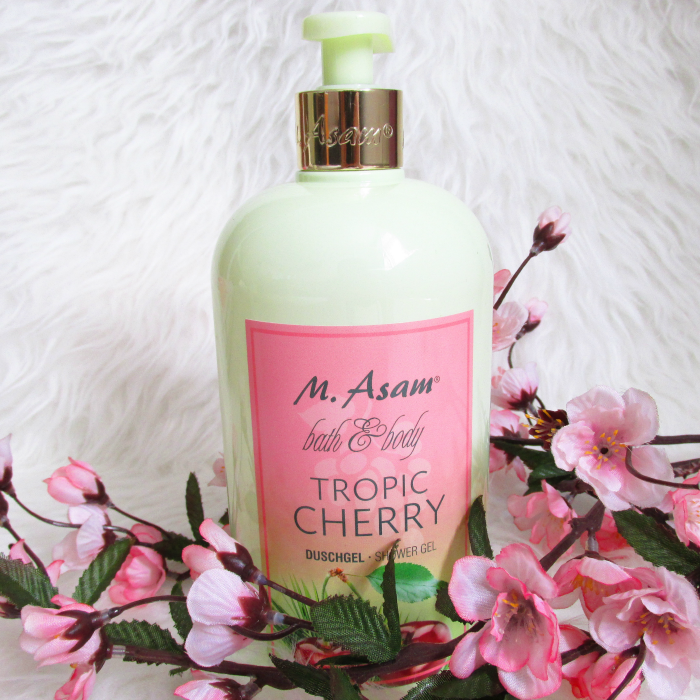 Review: M. Asam Tropic Cherry - Duschgel - 750ml - 18.75 Euro
