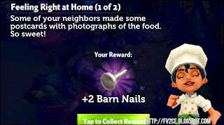 FarmVille 2: Country Escape, Nails, Chef dancing