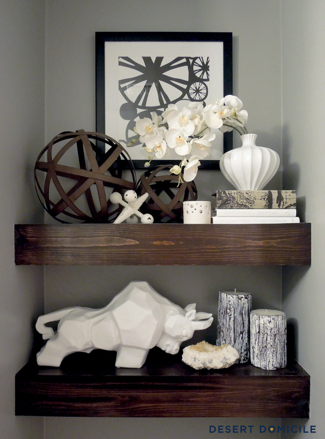 10 Shelf Styling Tips Amp Tricks Go From Quot How Quot To Quot Wow