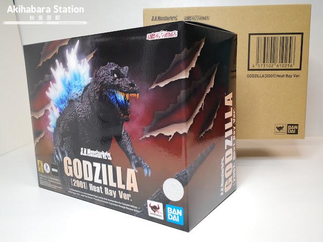 Review del S.H. MonsterArts Godzilla (2001) Heat Ray ver. - Tamashii Nations