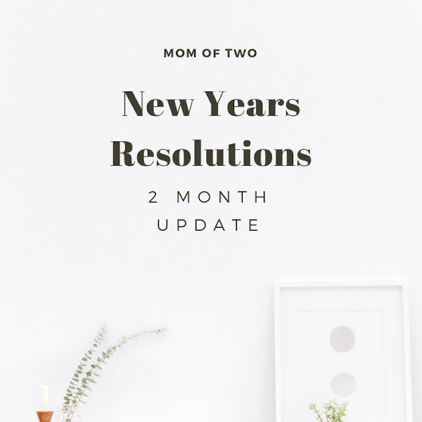 New Years Resolutions: 2 Month Update