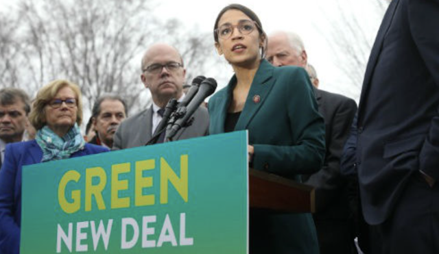 AOC chief admits 'Green New Deal' about socialism, not climate
