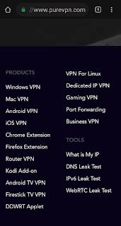 Features of PureVpn