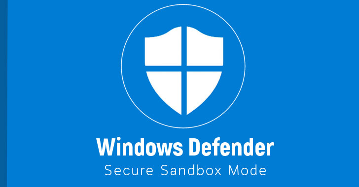 windows defender antivirus sandbox