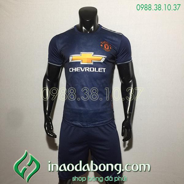 Áo bóng đá training CLB MU đen 2020
