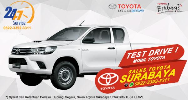 Info Test Drive Toyota Hilux E-Cab Surabaya