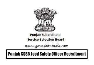 Punjab SSSB Food Safety Officer Recruitment