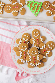 These soft and thick gingerbread cookies have the perfect lightly spiced gingerbread flavor, and are so delicious!