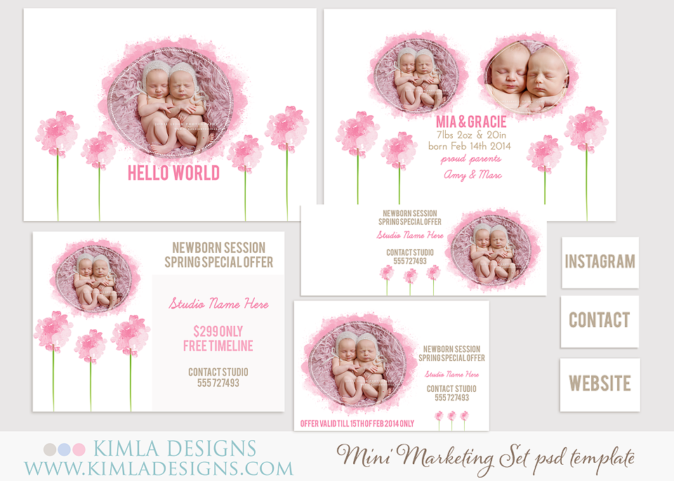 new Birth Announcements Cards and Timeline Covers PSD Templates – Free Baby Announcement Templates Photoshop