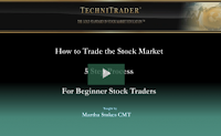 beginners how to trade the stock market webinar - technitrader