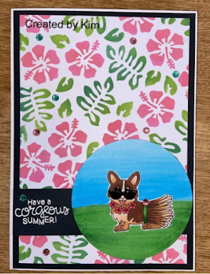 Have a corgeous summer by Kimberly features Corgi Beach and Hibiscus by Newton's Nook Designs; #newtonsnook
