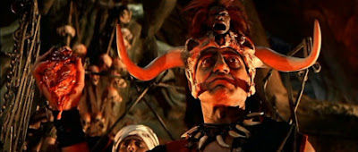 Still from 'Indiana Jones and the Temple of Doom' - Educational use