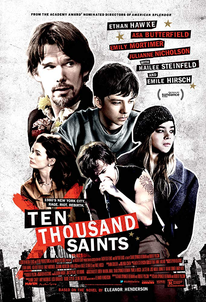 10,000 Saints 2015 English Movie Blueray 1080p With Subtitle