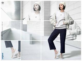 鹿晗、Angelababy、水原希子展現 2017 adidas Originals秋冬系列
