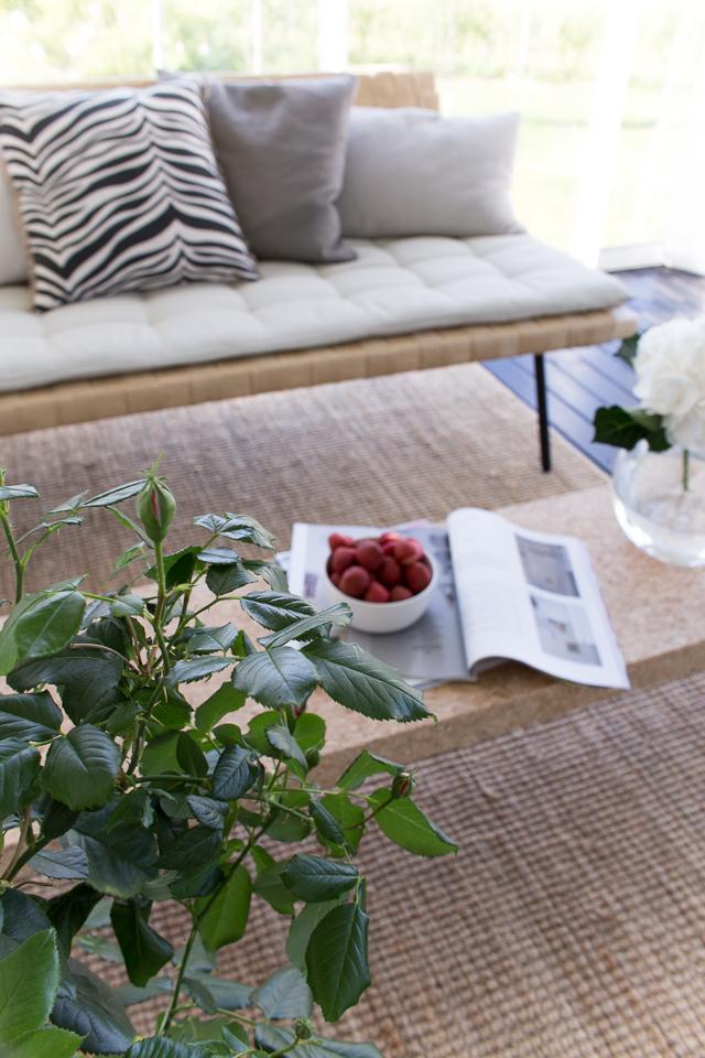 Villa H, lasitettu terassi, kesäolohuone, terassin sisustus, skandinaavinen koti, sisustusinspiraatio