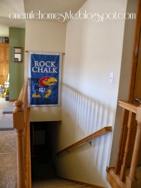 Stairway Wall - Before