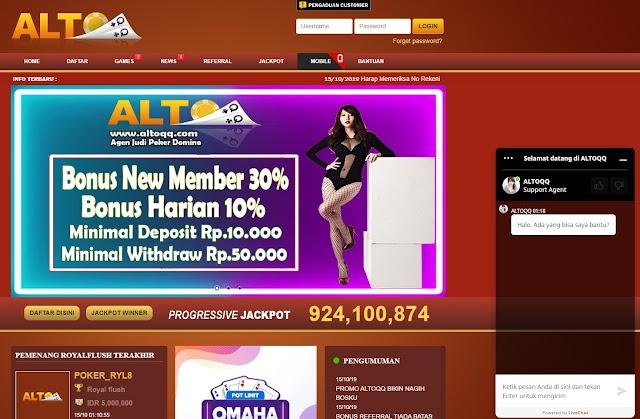 Situs Login ALTOQQ Terbaru Mempermudah Login