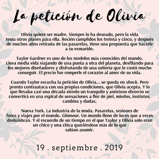 Sinopsis de La petición de Olivia