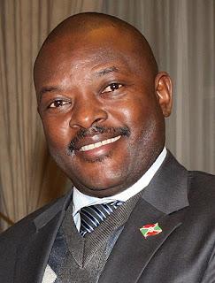 Präsident Pierre Nkurunziza