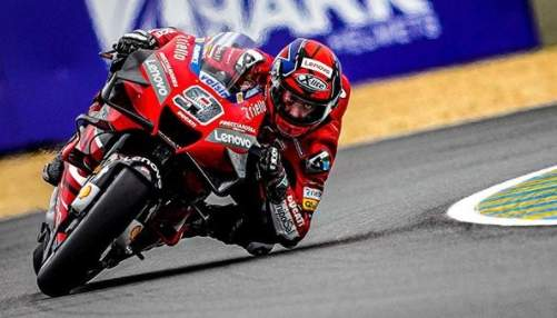 Danilo Petrucci Juara motoGP Le Mans Perancis 2020