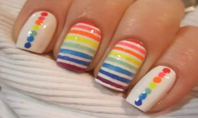 esmaltes coloridos para o carnaval