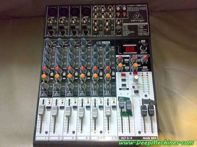 Perangkat Audio Nixer - Behringer Xenix X1204USB